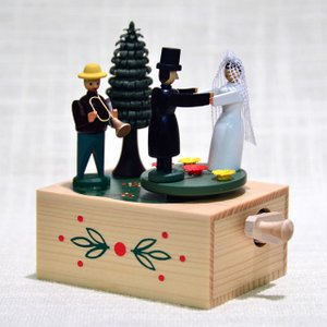 ドイツ木工芸品・手回しオルゴール 結婚式 motomachi-takenaka