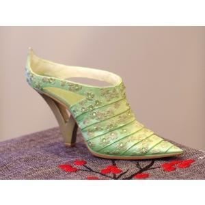 アメリカ ミニチュア靴 JUST THE RIGHT SHOE ジャスト・ザ・ライト・シュー Mint Julep|motomachi-takenaka