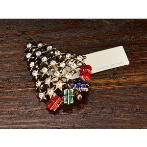 ドイツ ブローチ ツリー 星 プレゼント|motomachi-takenaka