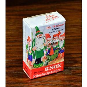 ドイツ木工芸品 煙出し人形用 お香 コーン型 KNOX|motomachi-takenaka