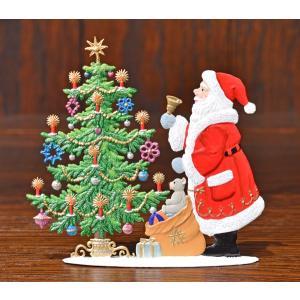 ドイツ錫(すず)飾り・サンタクロース クリスマスツリー プレゼント|motomachi-takenaka