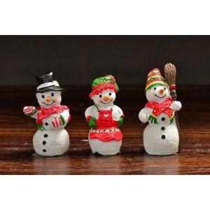 スウェーデン 置物 小さなスノーマン Snowmen 3個セット|motomachi-takenaka