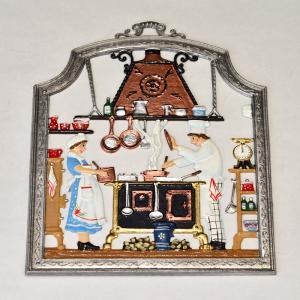 ドイツ錫(すず)飾り 職業シリーズ 厨房 料理人 コック|motomachi-takenaka