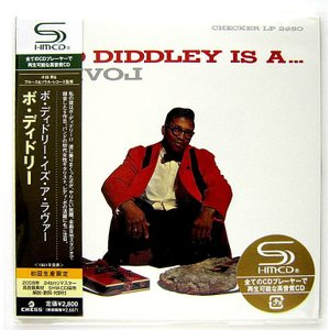 BO DIDDLEY ボ・ディドリー / BO DIDDLEY IS A LOVER