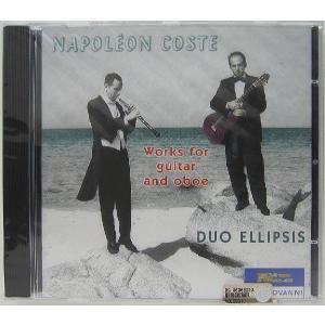 【中古】DUO ELLIPSIS デュオ・エリプシス / NAPOLEON COSTE: Works for guitar and oboe〔輸入盤CD〕 motomachirhythmbox