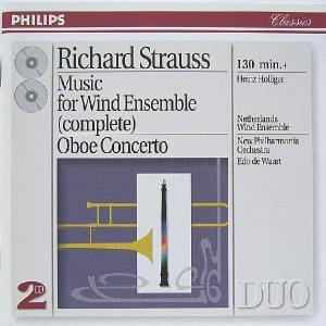 Edo de Waart、Netherlands Wind Ensemble/R.Strauss:M...