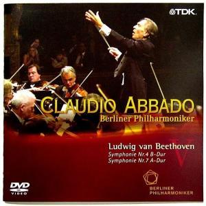 【中古】CLAUDIO ABBADO クラウディオ・アバド(指揮) / BEETHOVEN : SYMPHONY NR. 4 &NR. 7 〔DVD〕|motomachirhythmbox