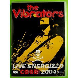 【中古】THE VIBRATORS ザ・ヴァイブレーターズ / LIVE ENERGIZED CBGB 2004〔DVD〕|motomachirhythmbox