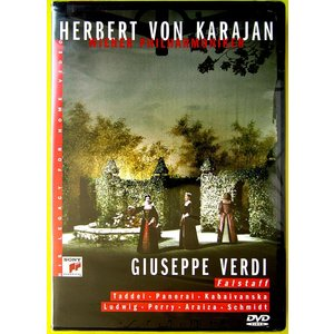 【中古】HERBERT VON KARAJAN ヘルベルト・フォン・カラヤン(指揮) / VERDI : FALSTAFF〔DVD〕