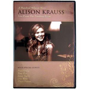 【中古】ALISON KRAUSS アリソン・クラウス / A Hundred Miles or More    Live From The Tracking Room〔輸入盤DVD〕 motomachirhythmbox