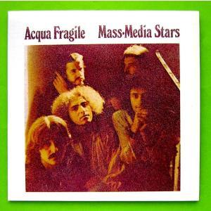 【中古】ACQUA FRAGILE アクア・フラジーレ / MASS・MEDIA STARS(CD)|motomachirhythmbox
