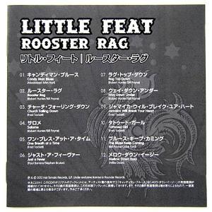 【中古】LITTLE FEAT リトル・フィート / ROOSTER RAG 〔CD〕  motomachirhythmbox 04