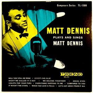 【中古】MATT DENNIS マット・デニス(ピアノ) / PLAYS AND SINGS 〔CD〕|motomachirhythmbox