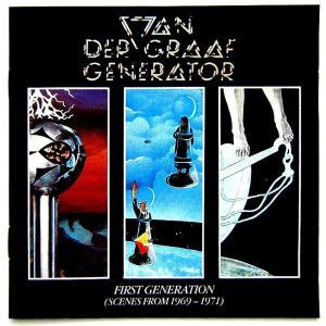 【中古】VAN DER GRAAF GENERATOR ヴァン・ダー・グラフ・ジェネレーター / FIRST GENERATION (SCENES FROM 1969-1971)(CD)|motomachirhythmbox