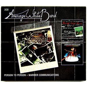 【中古】AVERAGE WHITE BAND アヴェレイジ・ホワイト・バンド / PERSON TO PERSON  +  WARMER COMMUNICATIONS 〔CD〕 motomachirhythmbox