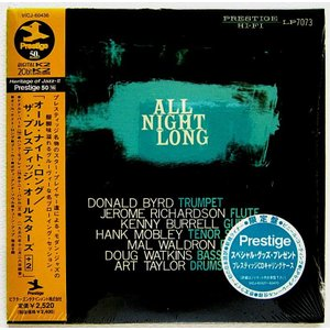 【中古】V. A.  / ALL NIGHT LONG   THE PRESTIGE ALL STARS +2 〔CD〕|motomachirhythmbox