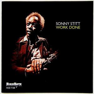 【中古】SONNY STITT ソニー・スティット(テナー・サックス) / WORK DONE 〔CD〕|motomachirhythmbox