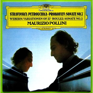 【中古】MAURIZIO POLLINI マウリツィオ・ポリーニ(ピアノ) / STRAVINSKY : PETROUCHKA , etc... 〔CD〕|motomachirhythmbox