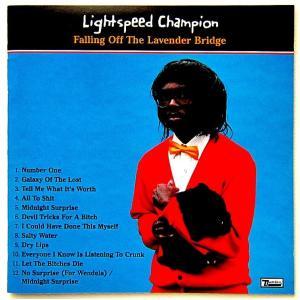 【中古】LIGHTSPEED CHAMPION ライトスピード・チャンピオン / FALLING OFF THE LAVENDER BRIDGE 〔CD〕|motomachirhythmbox