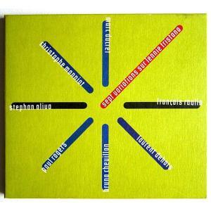 【中古】STEPHAN OLIVA ステファン・オリヴァ(ピアノ)&FRANCOIS RAULIN フランシス・ラウリン(ピアノ) / SEPT VARIATIONS SUR LENNIE TRISTANO 〔CD〕 motomachirhythmbox