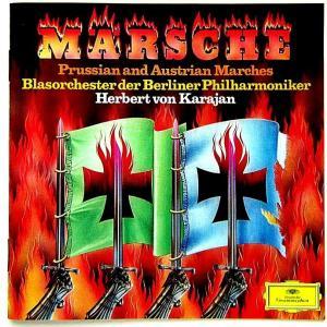 【中古】HERBERT VON LARAJAN ヘルベルト・フォン・カラヤン(指揮) / PRUSSIAN AND AUSTRIAN MARCHES〔CD〕|motomachirhythmbox