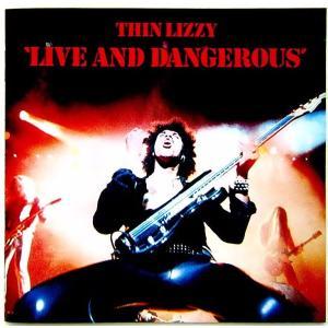 【中古】THIN LIZZY シン・リジィ / LIVE AND DANGEROUS 〔CD〕|motomachirhythmbox