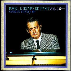 【中古】SAMSON FRANCOIS サンソン・フランソワ(ピアノ) / RAVEL : L' CEUVRE DE OIANO VOL.2 〔CD〕|motomachirhythmbox