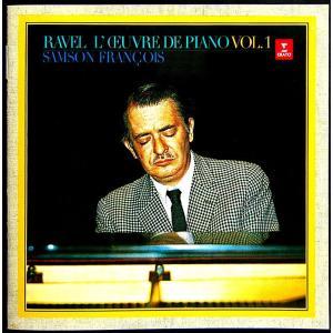 【中古】SAMSON FRANCOIS サンソン・フランソワ(ピアノ) / RAVEL : L' CEUVRE DE OIANO VOL.1 〔CD〕|motomachirhythmbox