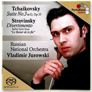 【中古】 VLADIMIR JUROWSKI ウラディミール・ユロフスキ(指揮) / TCHAIKOVSKY : SUITE NO.3 , etc...〔輸入盤CD/SACD〕 motomachirhythmbox