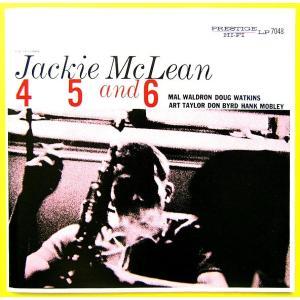 【中古】JACKIE MAcLEAN ジャッキー・マクリーン(アルト・サックス) / 4,5&6 〔CD〕 motomachirhythmbox