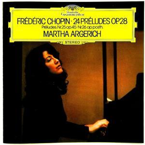 【中古】 MARTHA ARGERICH マルタ・アルゲリッチ(ピアノ) / CHOPIN : 24 PRELUDES op.28 , etc... 〔CD〕|motomachirhythmbox