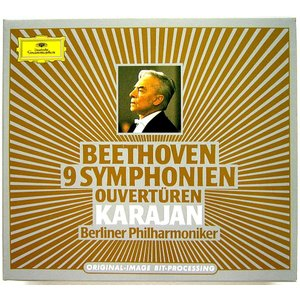 【中古】HERBERT VON KARAJAN カラヤン(指揮) /  BEETHOVEN : 9 SYMPHONIEN 〔CD〕|motomachirhythmbox