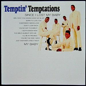 【中古】 THE TEMPTATIONS ザ・テンプテーションズ / THE TEMPTIN' TE...