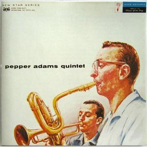 【中古】PEPPER ADAMS ペッパー・アダムス / pepper adams quintet 〔輸入盤CD〕