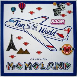 【中古】MOMOLAND モモランド / Fun to the World 〔輸入盤CD〕