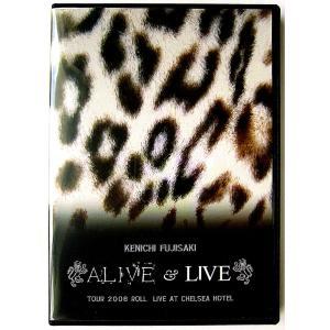 【中古】KENICHI FUJISAKI 藤崎賢一 / ALIVE & LIVE    TOUR 2008 ROLL    LIVE AT CHELSEA HOTEL〔DVD〕 motomachirhythmbox