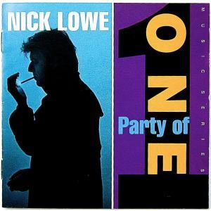 【中古】NICK LOWE ニック・ロウ / PARTY OF ONE 〔CD〕 motomachirhythmbox