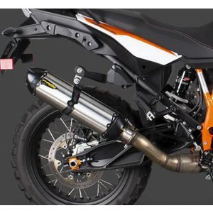 Two Brothers Racing (ツーブラザーズレーシング)  S1R スリップオン マフラー ステンレス  KTM 1050/1290 Adventure 15-20 motoparts