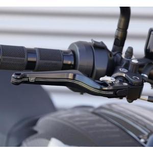 Wunderkind・アジャスタブル ブレーキレバー・インディアン FTR1200|motoparts
