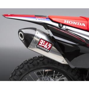 ヨシムラUSA RS-4 レース ステンレス フルエキゾースト マフラー ホンダ CRF250L/RALLY|motoparts