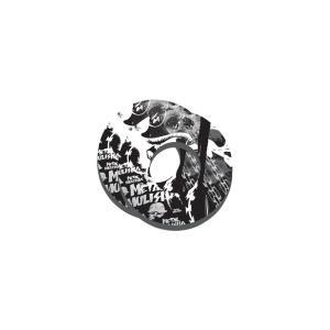 FACTORY EFFEX モトグリップドーナツ メタルマリーシャ(ホワイト/ブラック) motoparts