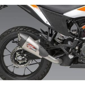 ヨシムラUSA AT2 スリップオンマフラー ステンレス KTM 390Adventure/アドベンチャー 20- motoparts