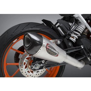 US ヨシムラ アルファ ストリート ALPHA T ステンレス スリップオン マフラー KTM 390 DUKE, RC390 motoparts