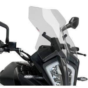 プーチ(Puig) ツーリングスクリーン KTM 390ADVENTURE/390アドベンチャー 2020- クリア motoparts