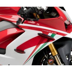 Puig(プーチ) ウイングレット・ダウンフォース・スポイラー・Ducati・パニガーレV2/V4・レッド|motoparts