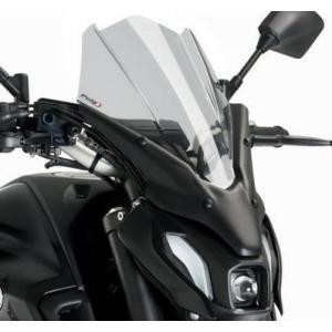 プーチ(Puig) ・New Generation Touring・ウインドシールド スクリーン・MT-07 2021-・スモーク motoparts