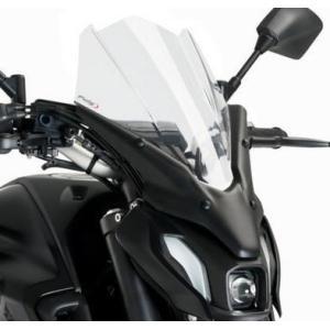 プーチ(Puig) ・New Generation Touring・ウインドシールド スクリーン・MT-07 2021-・クリア motoparts