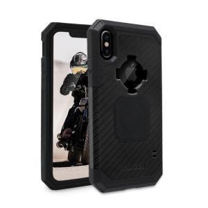 ロックフォーム(ROKFORM) Ruggedケース ブラック iPhone X/XS 303701P motoparts
