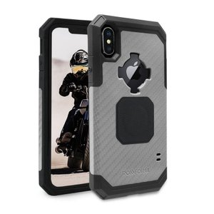 ロックフォーム(ROKFORM) Ruggedケース ガンメタル iPhone X/XS 303743P motoparts