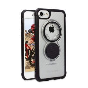 ROKFORM バイク用スマホケース カーボンクリア iPhone 8/7/6 304521P motoparts